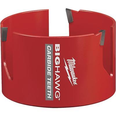 Milwaukee High-performance Big Hawg 4-14 In. Dia. Carbide-tipped Hole Saw