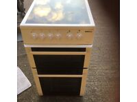 Beko 50cm glass top electric cooker in mint condition