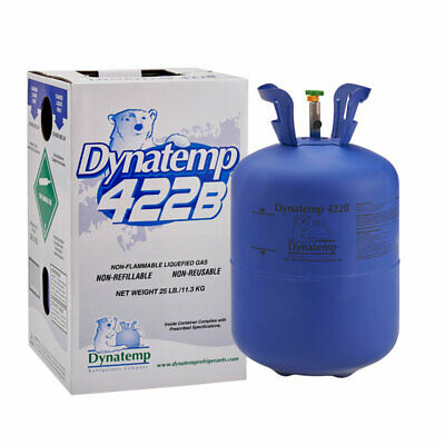 Refrigerant R422b R22 Drop In Replacement 25lb. Same Day Free Shipping