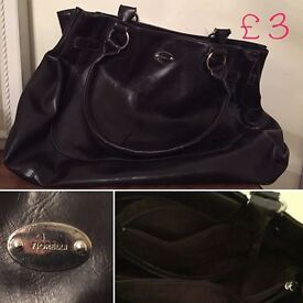 Handbags - Fiorelli, Lotus and Nicoli. Either all for £10 or individually priced