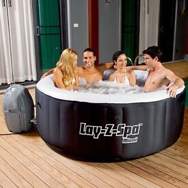 Brand new lay z spa hot tub perfect Christmas halloween gift