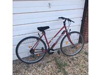 Ladies Giant X1000 retro bike
