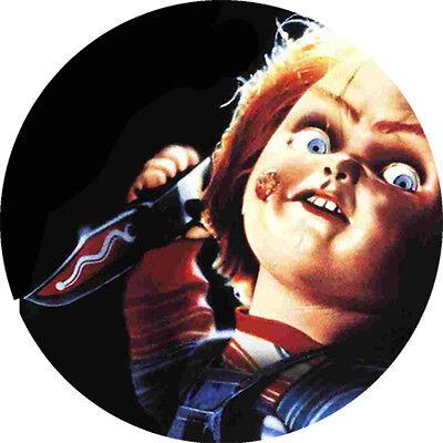 CHAPA/BADGE CHUCKY El Muñeco Diabolico . halloween viernes 13 terror elm street  (Diabolico Halloween)