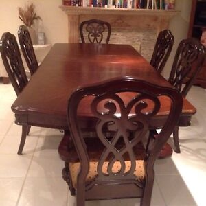 """Beautiful dining table 44"""" wide by 100"""" long"""