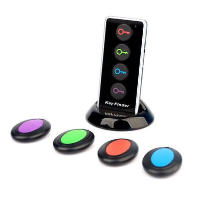NEU 4-IN-1 Schlüsselfinder Keyfinder Funk Schlüssel Finder Sender + 4 Empfänger