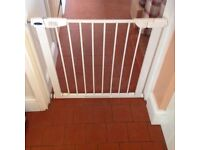 Stair or door safety gate