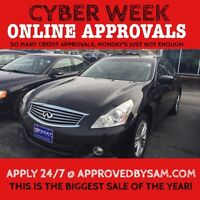 """CAR LOANS MADE EASY - G37X - TEXT """"AUTO LOAN"""" TO 519 567 3020"""