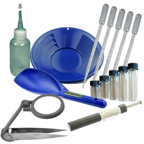 "GGB1 12"" Blue Gold Pan Panning Kit  SPECIAL DEAL!!!!!"
