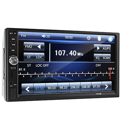 "7""Inch Shield Bluetooth Radio Audio Stereo For Car Video Player&HD Camera Novel"