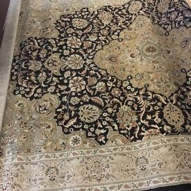 LARGE RUG APPROX 10ft x 5 ft