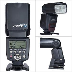 YN flashes 560iv/660/600/600II/568n/ 685C/N for Canon / Nikon
