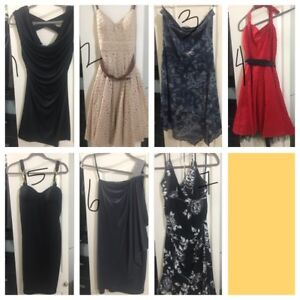 Ladies dresses for sale.