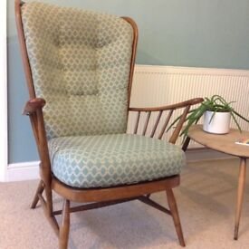 Seat and back CUSHIONS for 2 x Ercol chairs
