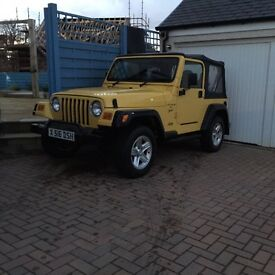 Jeep Wrangler 4.0 Sport Petrol - 36,000 miles from new
