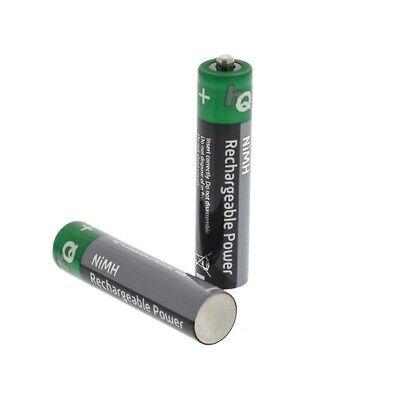 2x Wiederaufladbare Batterie Ersatz Akku AAA 950mah für Telefon Philips