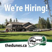 The Dunes Golf & Winter Club is Hiring: Backshop Staff