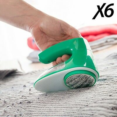 X6 Fusselentferner elektrisch Wollrasierer Textilrasier  mit Akku aufladbar