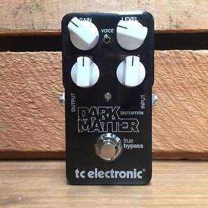 TC ELECTRONIC Dark Matter Distortion Effects Pedal Moorooka Brisbane South West Preview