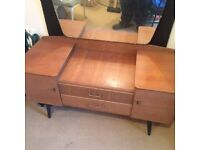 Lebus antique wardrobe and dressing table