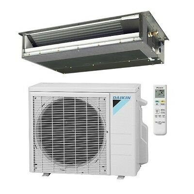 9,000 Btu 15.1 Seer Daikin Single Zone Ducted Mini Split Hea