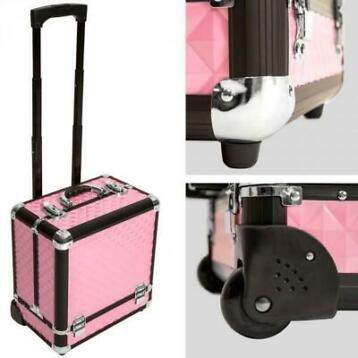 Cosmetica koffer trolley make-up beautycase A401444