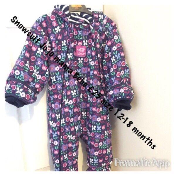 9d28bafaa 100% top quality 193a1 cadf8 girls snowsuit size 18 months ...