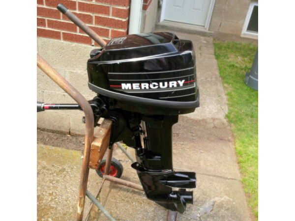 mercury 1988 1989 8 hp mercury short shaft outboard for