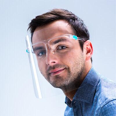 Schutzvisier Gesichtsvisier Face Shield Brillengestell mit 2 Visieren