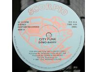 Demo-Barry ‎– City Funk: Funk / Soul 12'' Vinyl