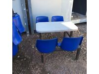 Take away table and chairs