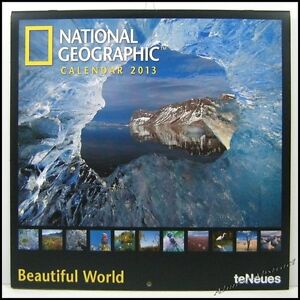 National Geographic (ng) Beautiful World 2013 teNeues Wall Calendar 12