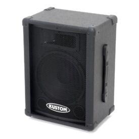 Kustom KSC10 120W Speakers (Perfect for Gigs / DJ)