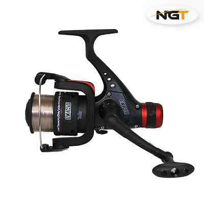 NGT COARSE CARP FISHING REEL LOADED WITH 8lb LINE CKR50