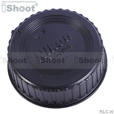iShoot Rear Lens Cap Protector with installation point for Nikon DX FX Lens