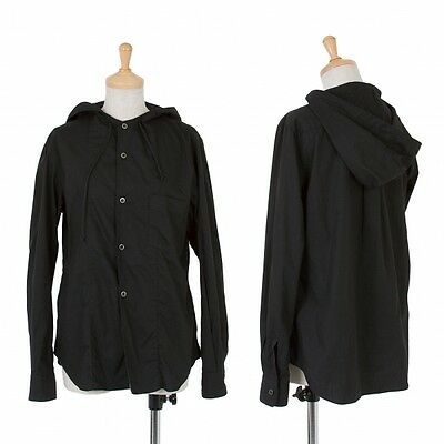 BLACK COMME des GARCONS Cotton Hoodies Size S(K-47875)