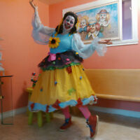Animatrice- Clown- Maquilleuse- Sculpture ballons-Personnages