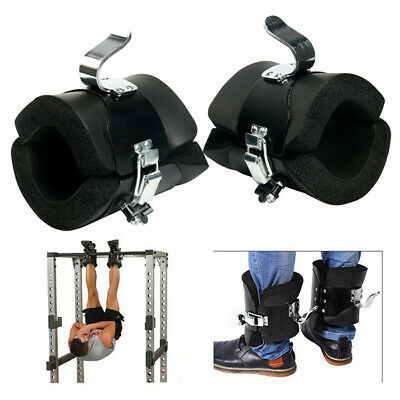Fitness Anti Gravity Inversion Boots 1 Pair Therapy Hang Spine Ab Chin Up Amarin ()