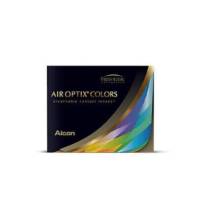 AIR OPTIX COLORS farbige Kontaktlinsen | 2er Pack | Gray Blue Green Brown