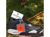 Nike air Jordan retro 4 Oreo UK 7/8.5
