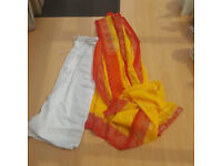 Sari with under garment from Sri Lanka
