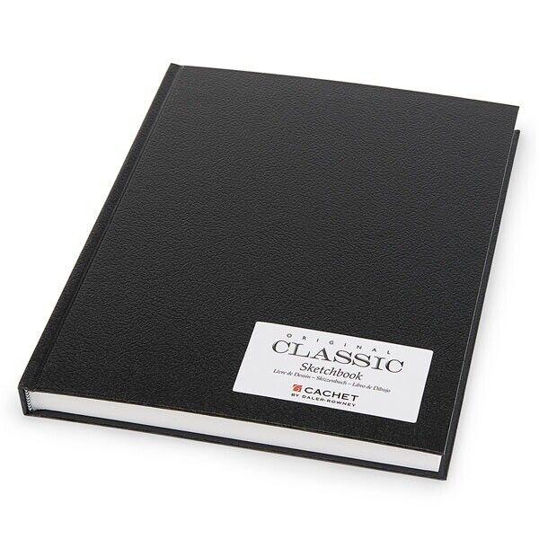 "Cachet Classic Sketchbook Hardbound 8.5x11"" Black"