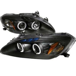 2004-2009 HONDA S2000 Black Housing Projector Headlights, Oe Hid Compatible