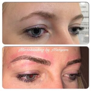 HAIR STROKE EYEBROWS ($279 holiday special) Cambridge Kitchener Area image 4