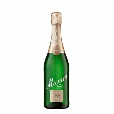 6 Flaschen Mumm dry Sekt 11,5% vol. elegant & extra trocken dry Sekt