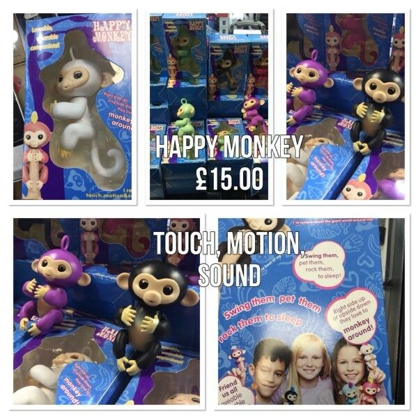 Happy Monkey In Various Colours Available