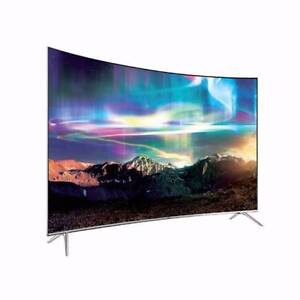 """SAMSUNG - 2016 Model - 65"""" CURVED 4K SUHD TV - UA65KS8500 +BLURAY Campbelltown Campbelltown Area Preview"""