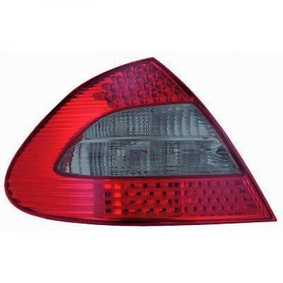 Rückleuchten Set für Mercedes E-Klasse W211 02-06 LED Klarglas/Rot-Schwarz Limo