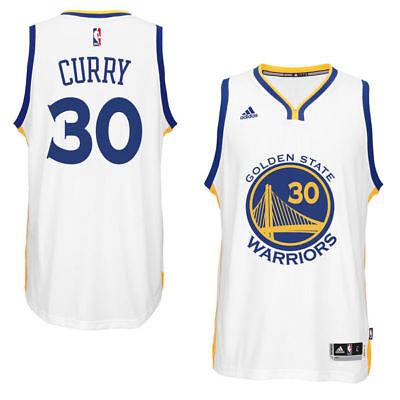 NBA Trikot Stephen Curry Golden State Warriors Jersey Revolution30 Swingman weiß ()