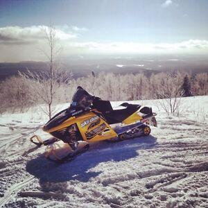2007 Ski-doo rev blizzard 600sdi