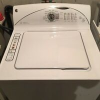 FULL ONE YEAR WARRANTY GE TOP LOADING WASHING MACHINE